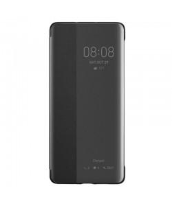 Huawei Cover - Huawei P30 Pro Husa View Cover Neagra