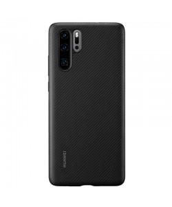 Huawei Case - Huawei P30 Pro Carcasa PU Neagra