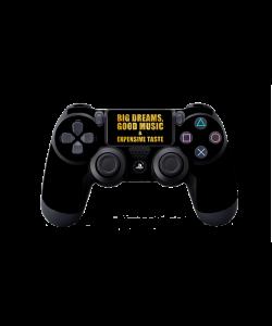 Good Music Black - PS4 Dualshock Controller Skin