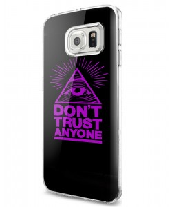 Don't Trust Anyone - Samsung Galaxy S7 Edge Carcasa Silicon