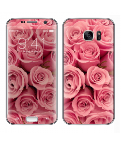 Roses are pink - Samsung Galaxy S7 Edge Skin
