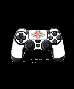 Detaliu Rosu - PS4 Dualshock Controller Skin