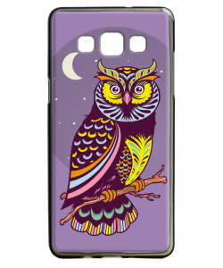 Purple Nights - Samsung Galaxy A5 Carcasa Silicon