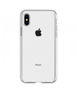 Spigen Crystal Flex Crystal Clear - iPhone XS / X Carcasa TPU Silicon