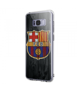 FC Barcelona - Samsung Galaxy S8 Carcasa Premium Silicon