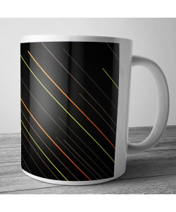 Cana personalizata - Pin Stripes