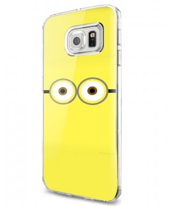 Minion Eyes - Samsung Galaxy S7 Edge Carcasa Silicon