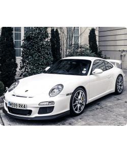 Porsche - iPhone 6 Plus Carcasa TPU Premium Neagra