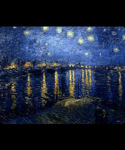 Van Gogh - Starryrhone - iPhone 6 Plus Carcasa Plastic Premium