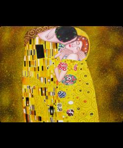 Gustav Klimt - The Kiss - Samsung Galaxy S3 Carcasa Transparenta Plastic