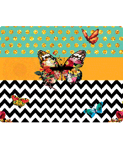 Butterfly Contrast - iPhone 6 Skin