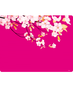 Cherry Blossom - Sony Xperia E1 Carcasa Neagra Silicon