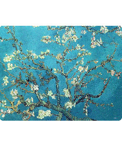 Van Gogh - Branches with Almond Blossom - iPhone 6 Husa Book Alba Piele Eco