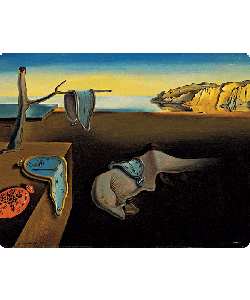 Salvador Dali - The Persistence of Memory - Samsung Galaxy S4 Carcasa Transparenta Silicon