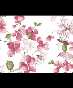 Delicate Petals - Samsung Galaxy S4 Carcasa Transparenta Silicon