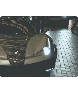 Ferrari 3 - Samsung Galaxy S4 Carcasa Transparenta Silicon
