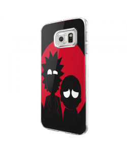 Rick and Morty - Samsung Galaxy S7 Edge Carcasa Silicon