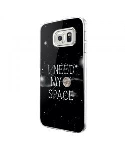 I need my space - Samsung Galaxy S7 Edge Carcasa Silicon
