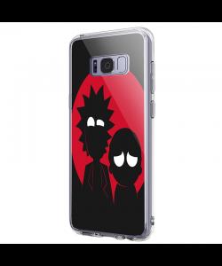 Rick and Morty - Samsung Galaxy S8 Carcasa Premium Silicon