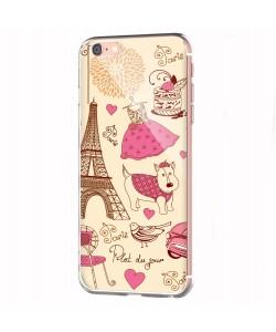 France - iPhone 6 Carcasa Transparenta Silicon