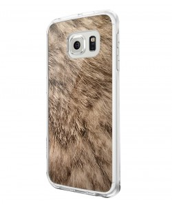 Rabbit Fur - Samsung Galaxy S6 Carcasa Silicon