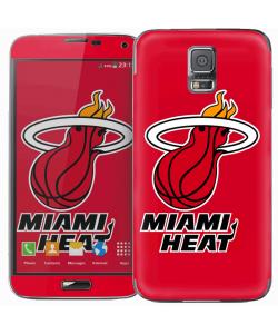 Miami Heat - Samsung Galaxy S5 Skin