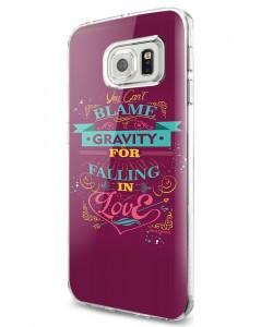 Falling in Love - Samsung Galaxy S7 Carcasa Silicon