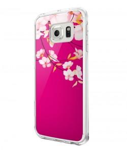 Cherry Blossom - Samsung Galaxy S6 Edge Carcasa Silicon Premium