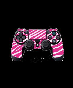 Pink Zebra - PS4 Dualshock Controller Skin