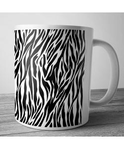 Cana personalizata - Zebra Labyrinth