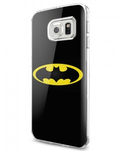 Batman Logo - Samsung Galaxy S7 Edge Carcasa Silicon