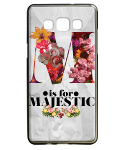 M is for Majestic 2 - Samsung Galaxy A5 Carcasa Silicon
