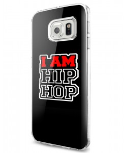 I am Hip Hop - Samsung Galaxy S7 Edge Carcasa Silicon
