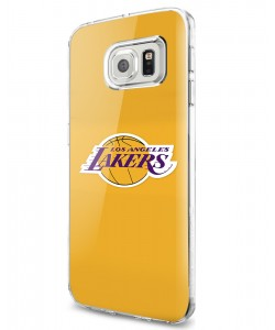 Los Angeles Lakers - Samsung Galaxy S7 Edge Carcasa Silicon