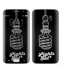 Lights Out - Samsung Galaxy S7 Edge Skin