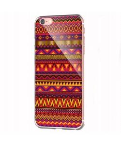 Aztec Summer - iPhone 6 Carcasa Transparenta Silicon