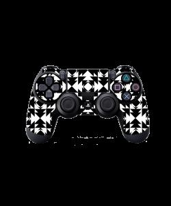 Black or White - PS4 Dualshock Controller Skin