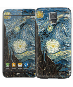 Van Gogh - Starry Night - Samsung Galaxy S5 Skin