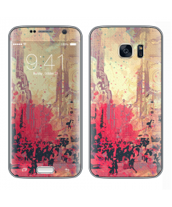 New York Time Square - Samsung Galaxy S7 Edge Skin