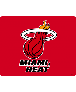 Miami Heat - iPhone 6 Husa Book Alba Piele Eco