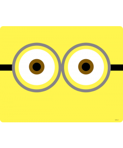 Minion Eyes - iPhone 6 Plus Carcasa TPU Premium Neagra