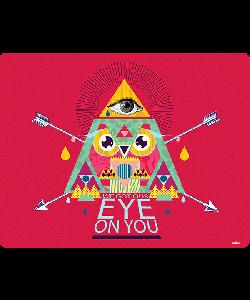 We Got Our Eye on You - Samsung Galaxy S4 Carcasa Transparenta Silicon