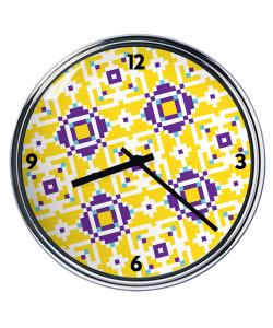 Ceas personalizat - Purp n Yellow