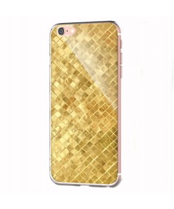 Squares - iPhone 6 Carcasa Transparenta Silicon