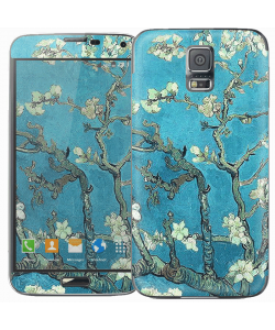 Van Gogh - Branches with Almond Blossom - Samsung Galaxy S5 Skin