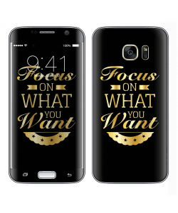 Focus - Samsung Galaxy S7 Edge Skin