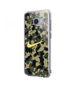 Camo Nike - Samsung Galaxy S8 Carcasa Premium Silicon