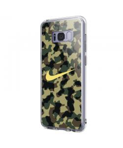 Camo Nike - Samsung Galaxy S8 Plus Carcasa Transparenta Silicon