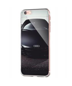 Audi R8 - iPhone 6 Carcasa Transparenta Silicon