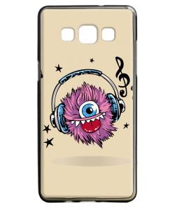 Fluffy Headphones - Samsung Galaxy A5 Carcasa Silicon